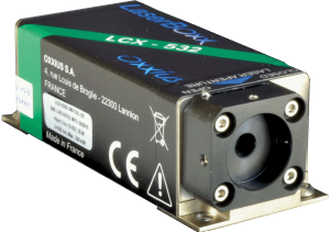 LCX series of single longitudinal mode DPPS lasers from Oxxius