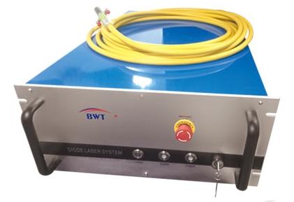 kW fiber coupled diode laser