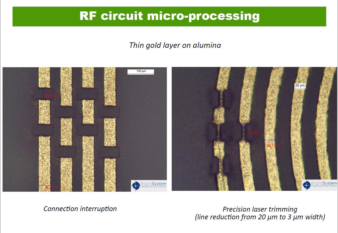 RF circuit micro-processing.