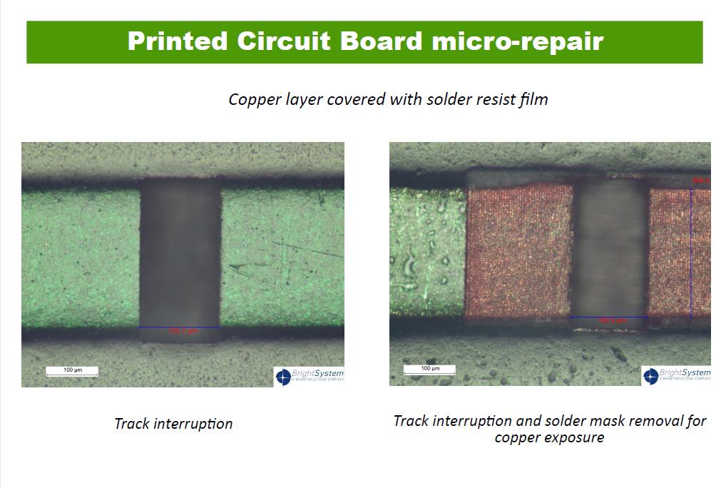 Printed Circuit Board micro-repair.
